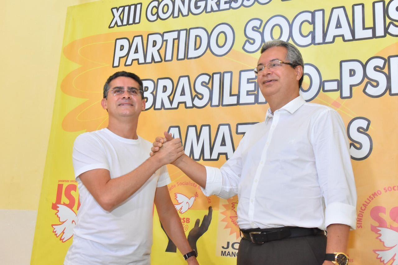 Em primeiro nas pesquisas para a Prefeitura, David Almeida desfilia-se do PSB
