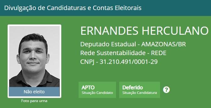 Candidato que concorreu vaga de deputado estadual no AM ganha R$ 15 mil na Seduc