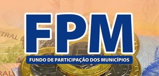 Cofres municipais recebem último repasse do FPM de maio na quinta-feira, 30