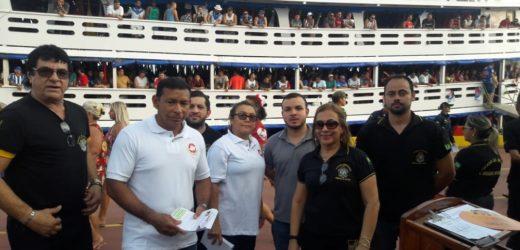 MP participa da Operação de combate à exploração sexual de crianças e adolescentes em embarque para o Festival de Parintins