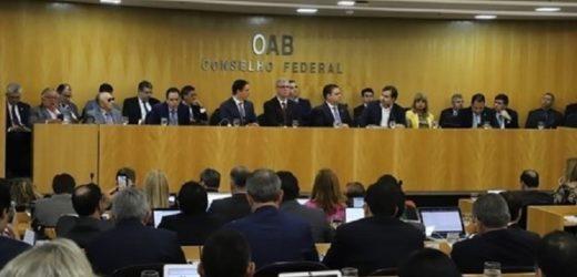OAB recomenda, por unanimidade, afastamento de Moro e Deltan