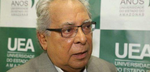 Contas anuais do ex-governador Amazonino Mendes na pauta desta terça-feira (18)