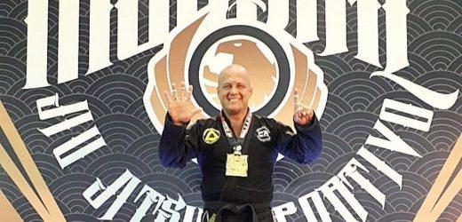 Amazonense Luis Neto é hexacampeão mundial de jiu-jítsu esportivo