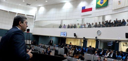 Câmara de Manaus gasta R$ 630 mil com novo painel eletrônico