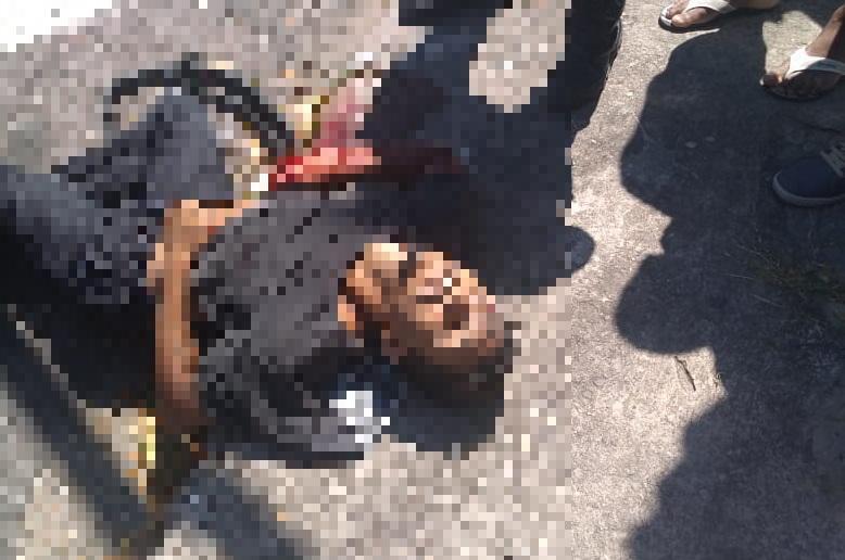 CENAS FORTES: Assaltante morre ao tentar escapar da polícia (Veja o vídeo)