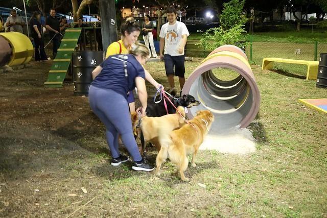 """Prefeitura de Manaus inaugura """"ParCão"""" de R$ 207 mil feito de bueiro e pneu reciclável"""