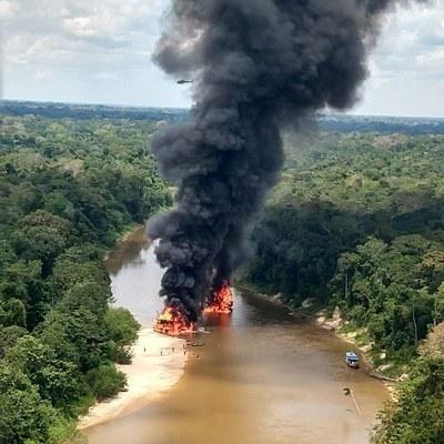 Operação Korubo: MPF articula ação coordenada de combate a garimpo ilegal na Amazônia