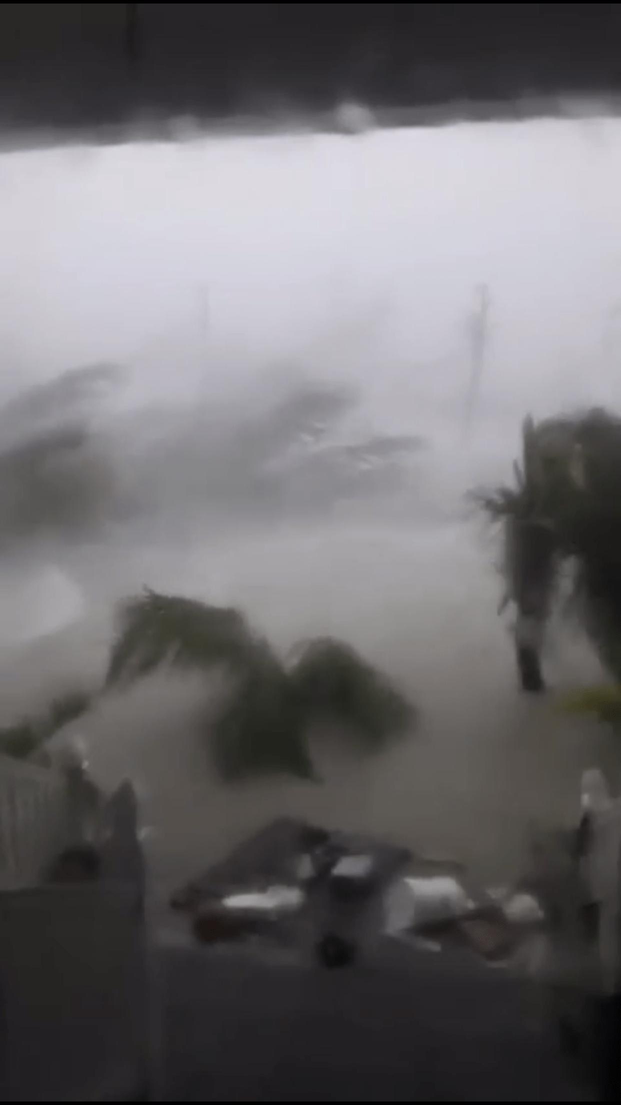 Furacão Dorian parado nas Bahamas (veja os vídeos)