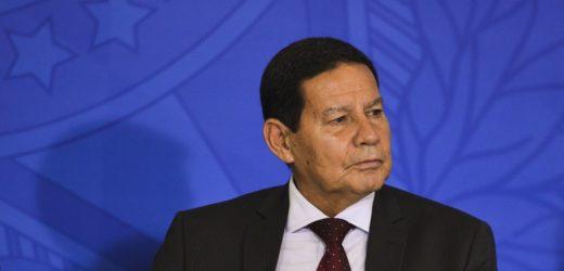 Vice-presidente Hamilton Mourão é diagnosticado com Covid-19
