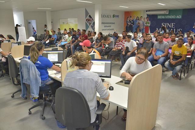 Postos do Sine Manaus selecionam 42 trabalhadores para vagas de emprego