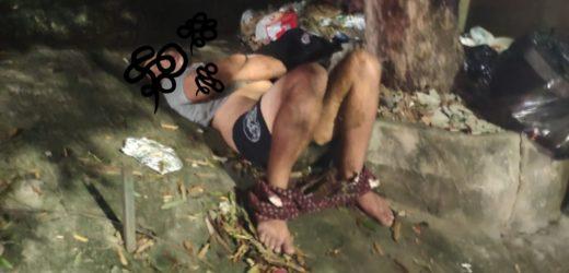 Homem de 25 anos é estuprado e jogado na lixeira, em Manaus