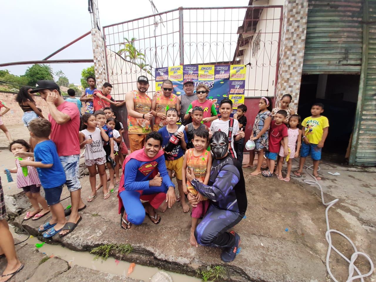 Novo Israel II realiza festa dos Dia das Crianças