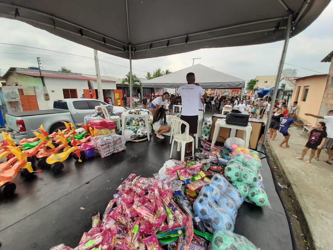 Conjunto Carlos Braga promove festa em comemoração ao Dia das Crianças