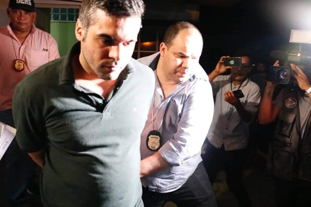 Alejandro vai passar os 30 dias da prisão temporária no CDPM1