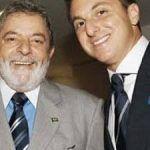'Me leva ao Caldeirão', diz Lula a Luciano Huck ao embarcar em avião