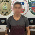 Polícia Civil prende homem por estupro, em Manacapuru