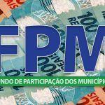 O primeiro FPM de dezembro será R$ 3,5 bilhões; repassados na terça-feira