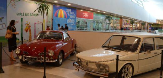 Último dia da exposição de carros antigos no ViaNorte