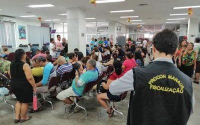 Procon vai multar Bradesco por desrespeito ao consumidor em três agências de Manaus