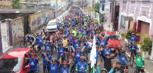 Passeio Ciclístico Cidade de Manaus movimenta as ruas da capital na manhã de domingo