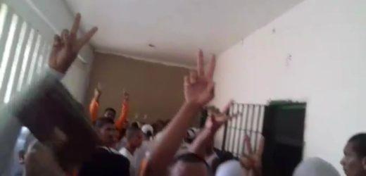 Presos fazem reféns durante rebelião no Puraquequara (Veja os vídeos)