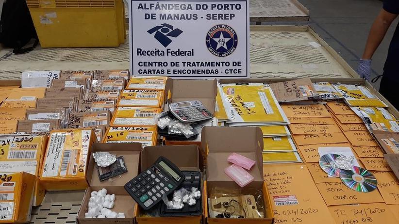 Receita Federal apreende 687 remédios para aborto em Manaus