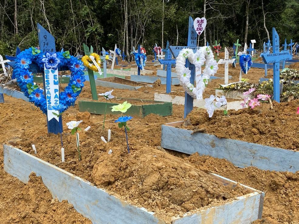 Manaus registra 73 sepultamentos nesta quarta-feira