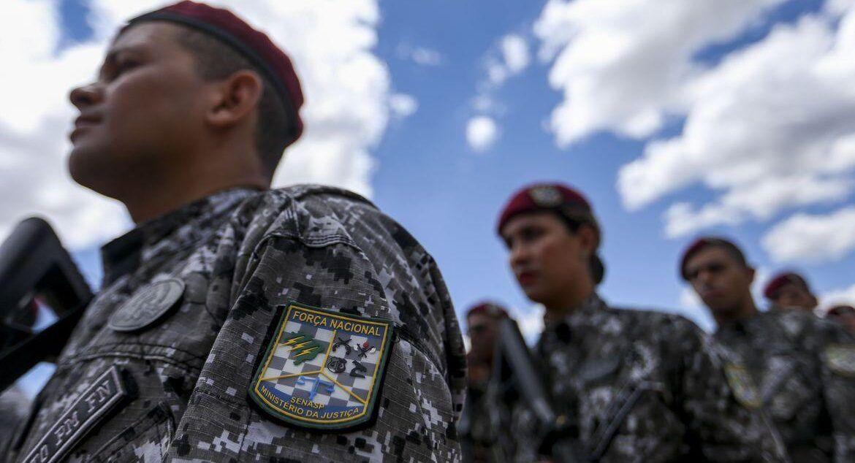Governo prorroga por 180 dias ação da Força Nacional em programa de combate à violência em cinco estados