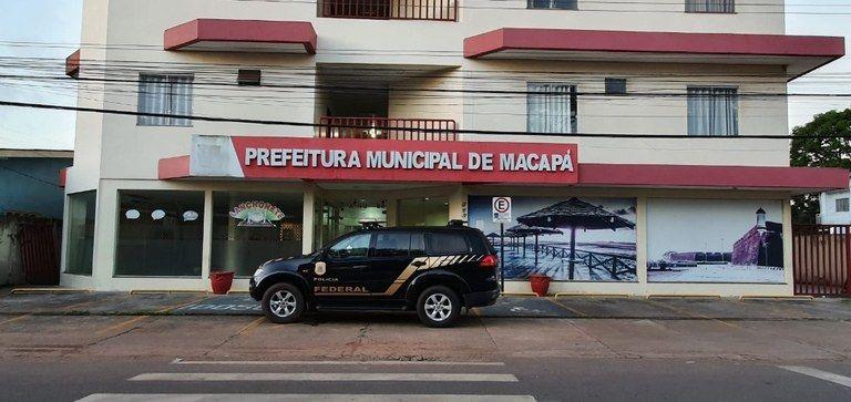 PF apura fraude à licitação no combate à Covid-19 em Macapá/AP
