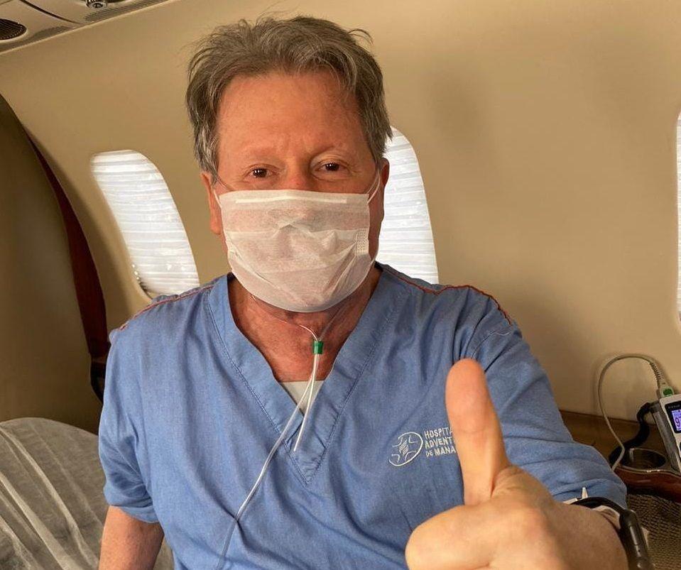 Com coronavírus, Arthur Neto é transferido para o Sírio Libanês