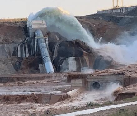 Vazamento em barragem no CE faz com que 2 mil pessoas sejam evacuadasDe
