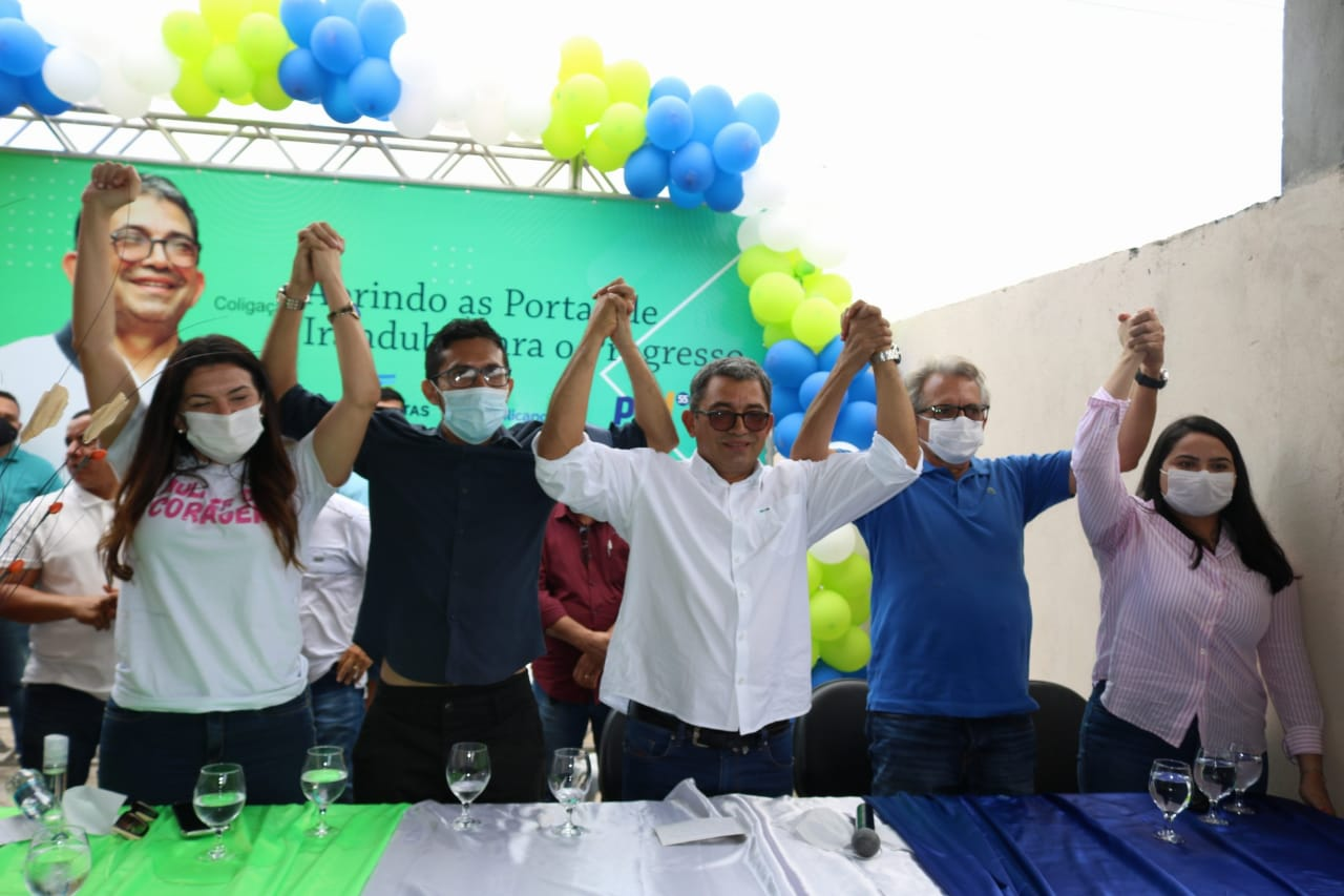Ferraz e Robson Adriel formam chapa rumo a Prefeitura de Iranduba