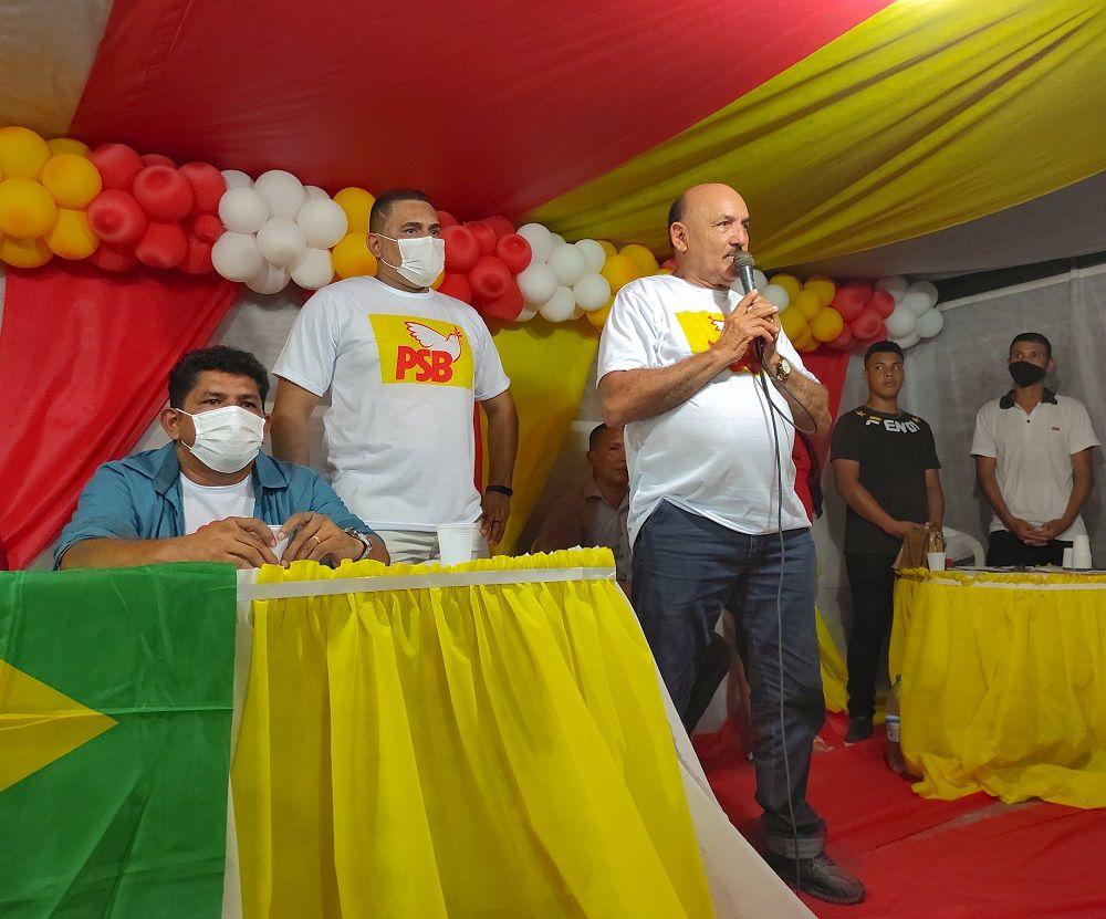 'Marreirão' é confirmado candidato à Prefeitura de Uarini em convenção histórica