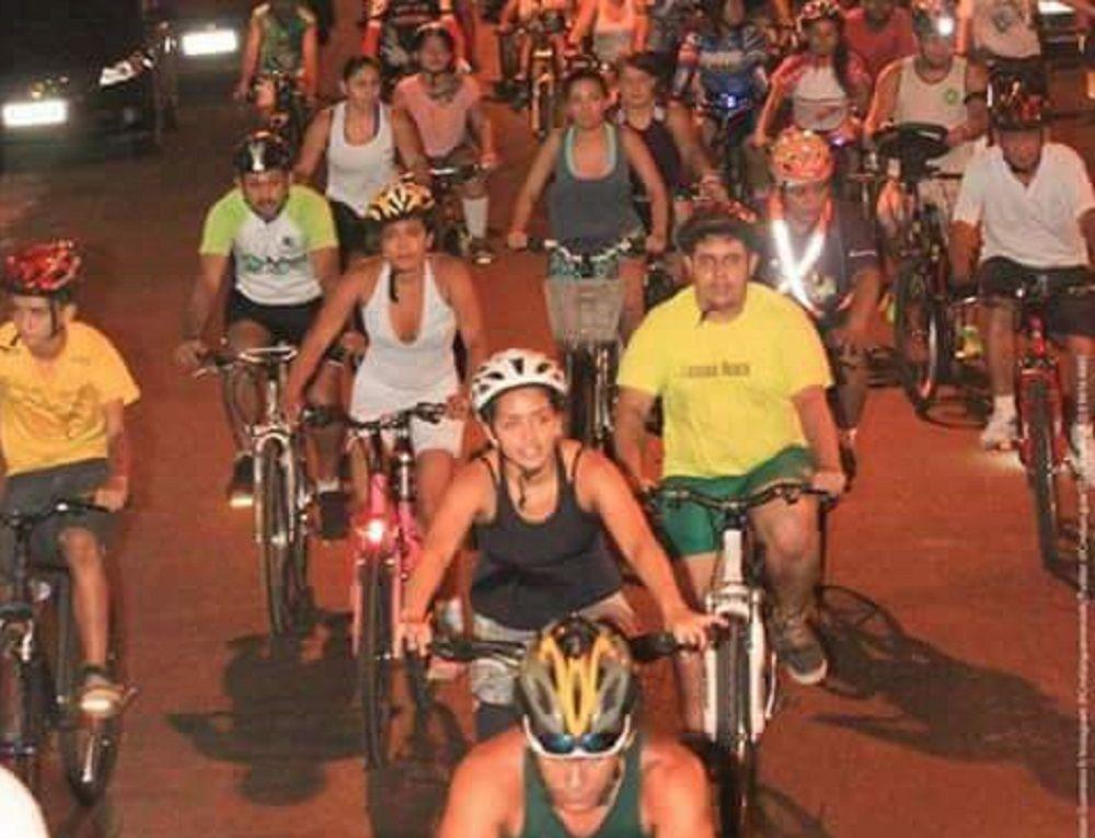 Ciclistas mobilizam campanha 'Setembro Amarelo' nesta terça-feira (29)