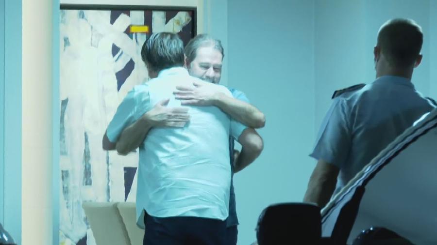 Bolsonaro encontra indicado para o STF em reunião com Toffoli e Alcolumbre
