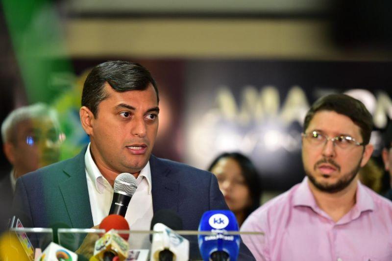 Carlos Almeida acusa Wilson Lima de 'comprar' respiradores superfaturados