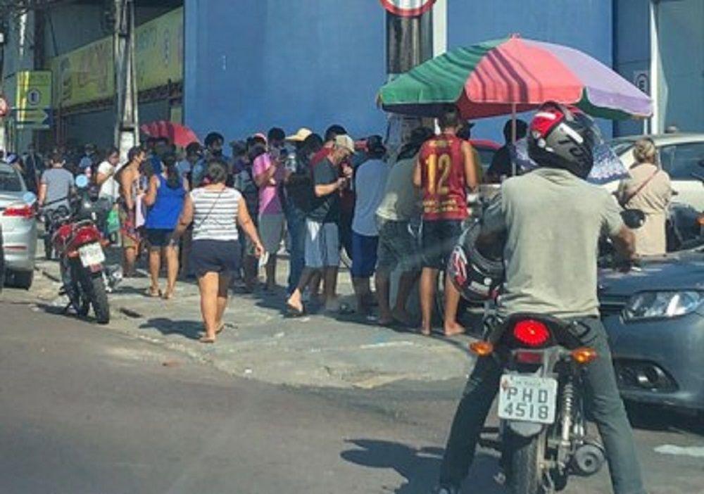 Justiça multa estado, município e Caixa Econômica Federal por não adotarem medidas para evitar aglomerações