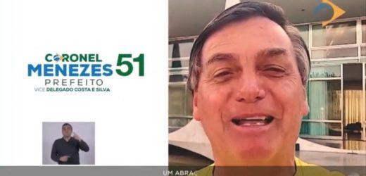 Menezes chama de 'desespero' ação de Alberto Neto contra propagada com Bolsonaro