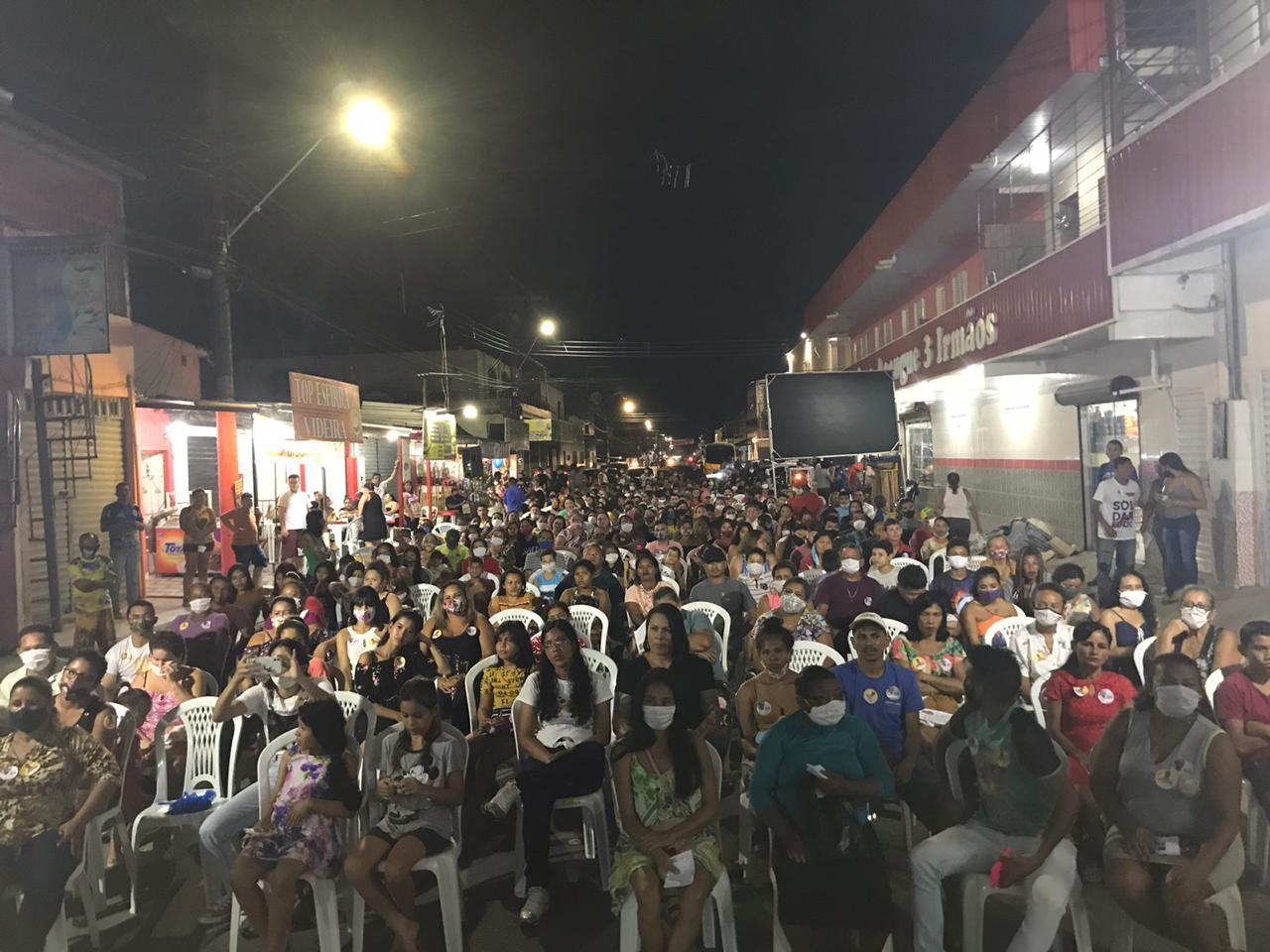 Evento de Nicolau promove aglomeração e contraria normas sanitárias