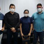 Nicson Marreira reúne com secretário da SES para tratar sobre ações integradas na saúde de Tefé