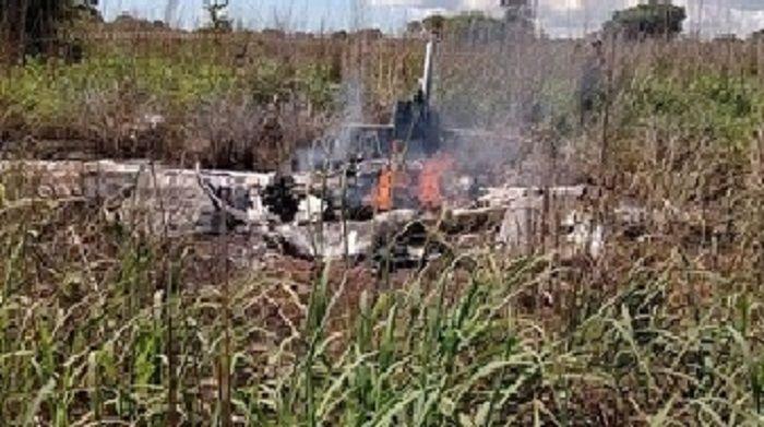 Acidente aéreo mata 4 jogadores e o presidente do Palmas