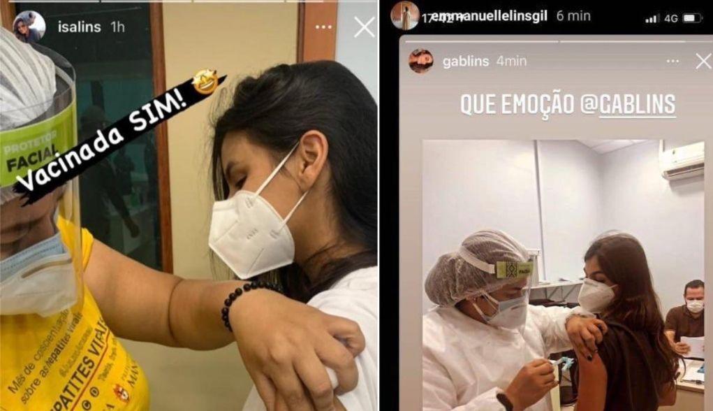 Herdeiras da Nilton Lins já foram vacinadas contra a Covid-19 em Manaus