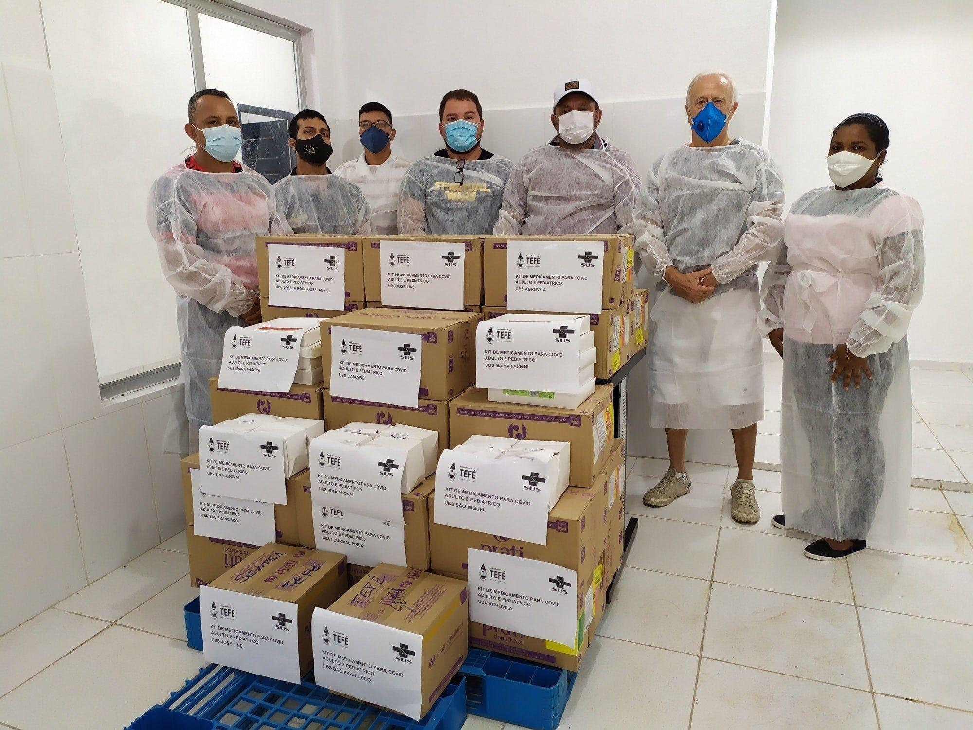 Prefeitura de Tefé vai distribuir kits de medicamentos para Covid-19
