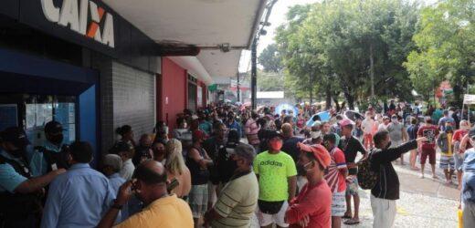 Auxílio emergencial: Parlamentares defendem voltar a pagar R$ 600