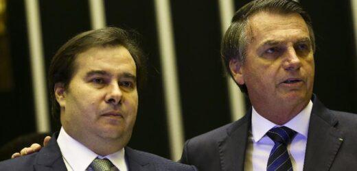 """Maia chama governo de Bolsonaro de """"incompetente"""" por não pagar banco"""