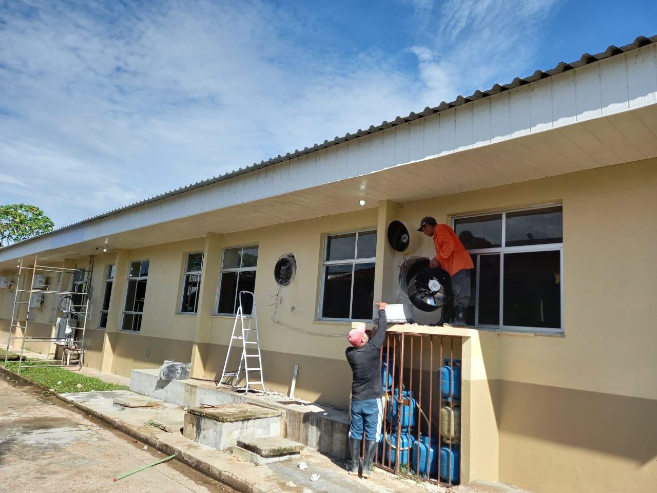 Hospital de Tefé recebe investimentos de mais de R$ 2 milhões em estrutura e equipamentos