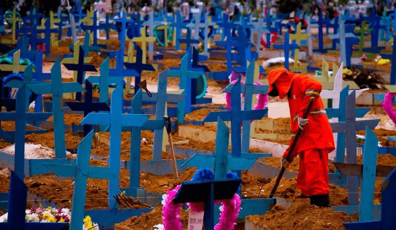 Brasil confirma 66.964 casos e 2.656 novas mortes pela Covid-19 em 24 h