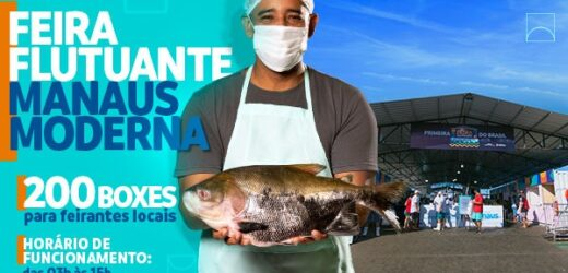 Manaus inova com primeira feira flutuante do país