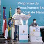 David Almeida anuncia programa 'Mais Manaus' com investimentos de R$ 1,2 bilhão e geração de 60 mil empregos