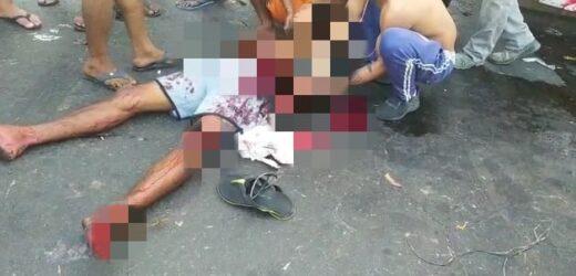 Homem sai gravemente ferido após briga com faca na Ceasa (veja o vídeo